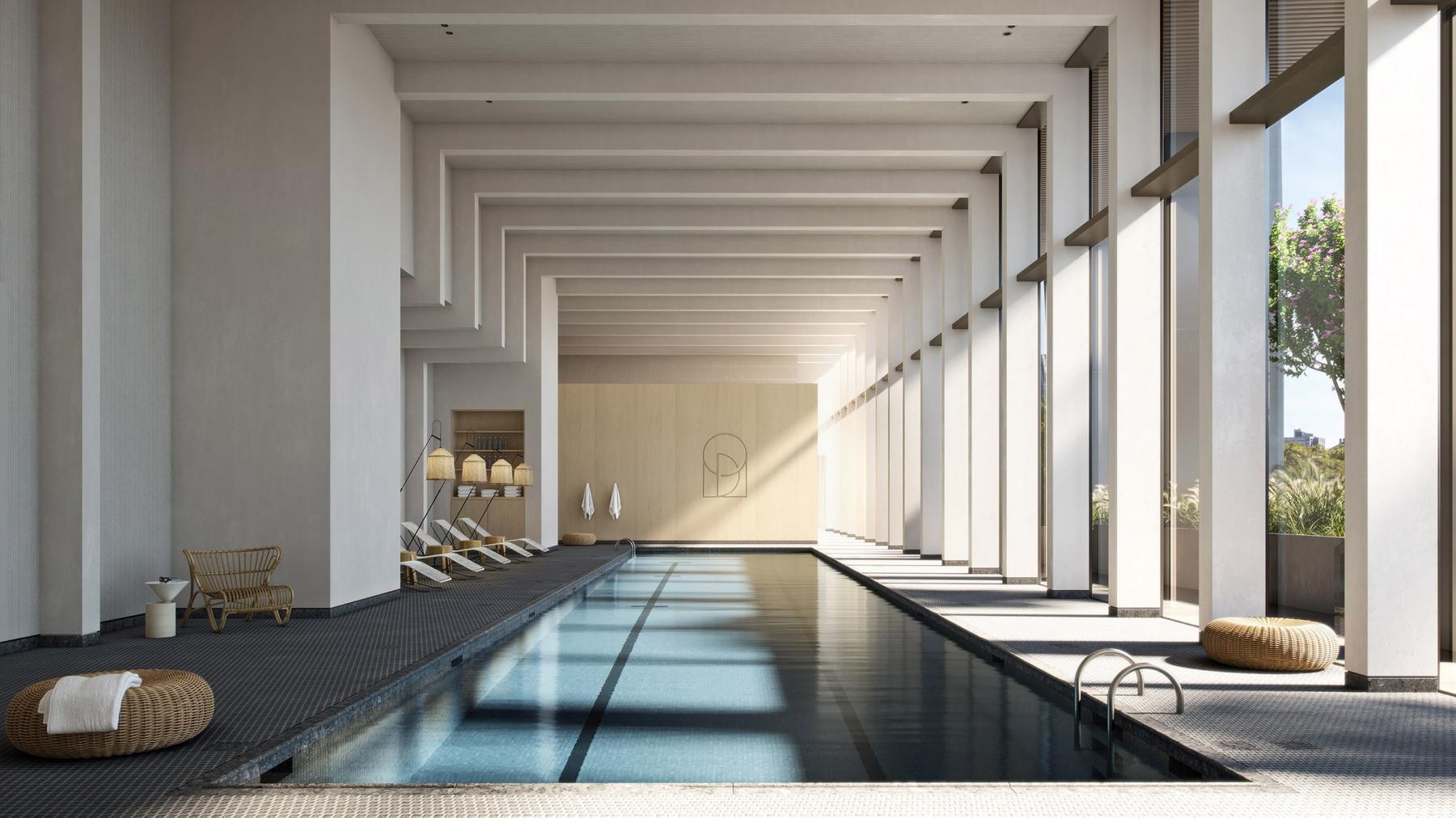 Olympia design pool slider render